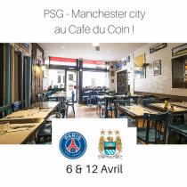Match de foot PSG Manchester city