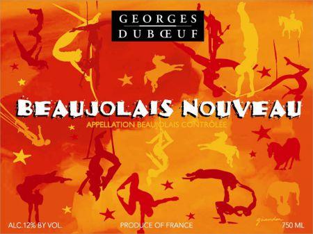 Le Bouddha fête le Beaujolais nouveau !
