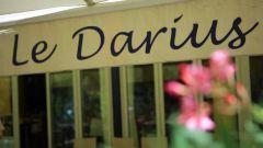 Le restaurant le Darius à Aix-en-Provence