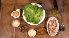 Vidéo - Recette en vidéo - Salade César croustillante du restaurant la Grille