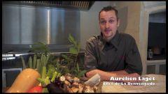 Le restaurant Le Benvengudo aux Baux-de-Provence
