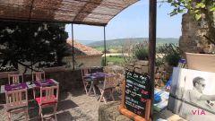 Le restaurant Les Moissines à Ansouis