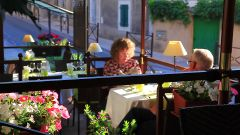 Le restaurant L'Arôme à Bonnieux