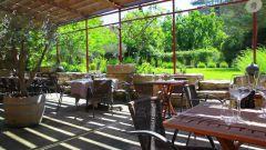 Le restaurant l'Auberge des Carrières à Taillades
