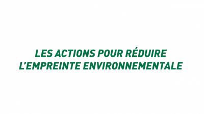 Nestlé Waters France - empreinte environnementale