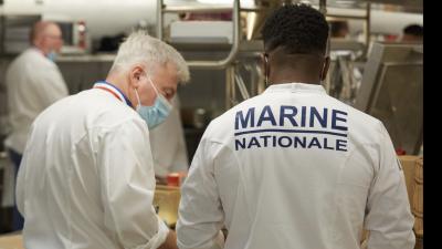 Les Toques Françaises x Marine Nationale