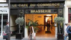 Le Café du commerce à Paris