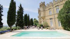Hostellerie Château des fines roches à Châteauneuf-du-Pape