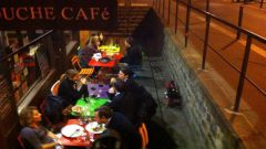 Cartouche Café à Paris