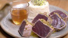Vidéo - Recette en vidéo : Thon Mmi-cuit et chutney aux fruits !