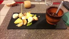 Pommes d'épices à Rouen