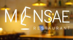 Restaurant Mensae - Paris