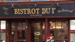 Restaurant Bistrot du 1er - Paris