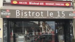 Restaurant Le bistrot le 15 - Lens