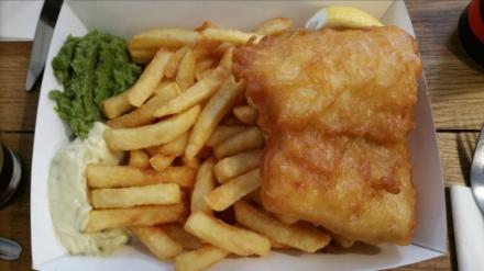Restaurant Johana's fish and chips - Paris