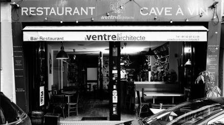 Restaurant Le ventre de l'architecte - Paris
