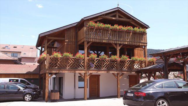 Le Grand Hôtel**** à Gérardmer