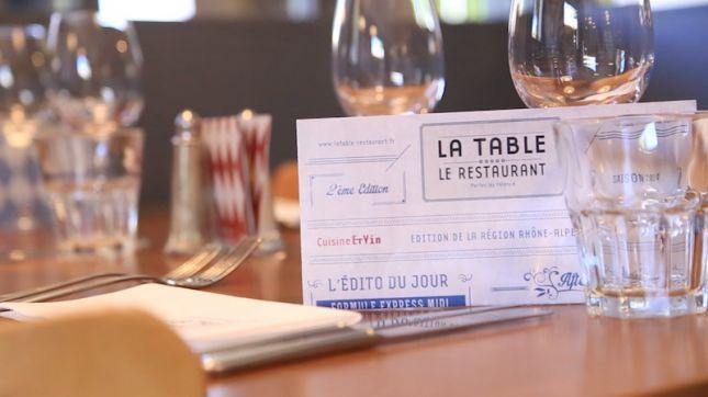 restaurant la table 224 portes l 232 s valence en vid 233 o