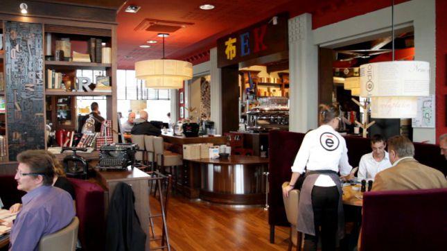 restaurant l 39 edito reims en vid o hotelrestovisio. Black Bedroom Furniture Sets. Home Design Ideas