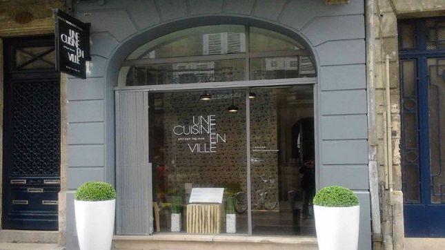 Une cuisine en ville à Bordeaux