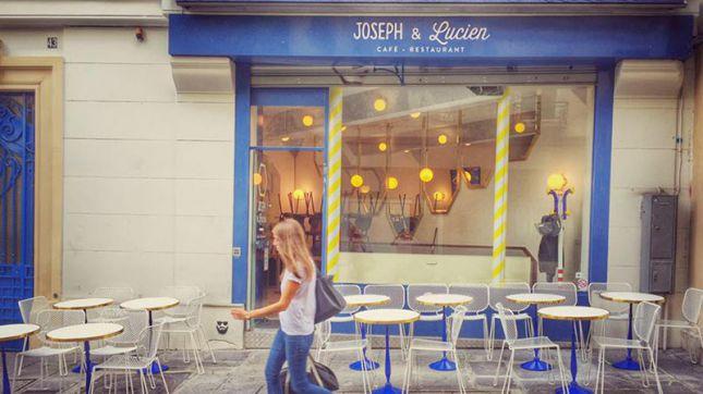 Joseph & Lucien à Paris