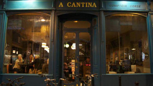 A Cantina Comptoir Corse à Bordeaux