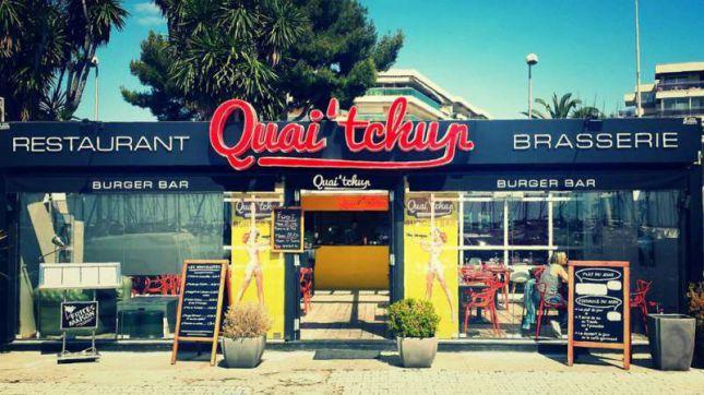 Quai Tchup à Nice