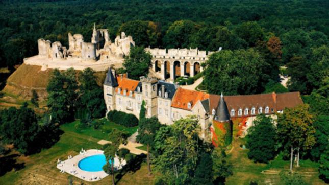 Château de Fère à Fère-en-Tardenois