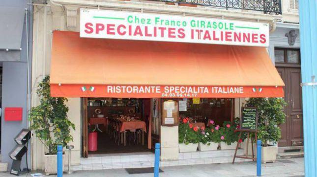 Chez Franco Girasole à Cannes