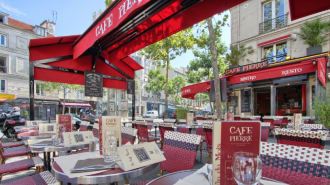 Café Pierre à Paris