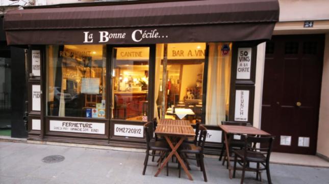 Bistrot de la bonne Cécile à Paris