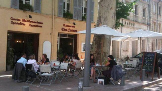 Au jardin des Carmes à Avignon