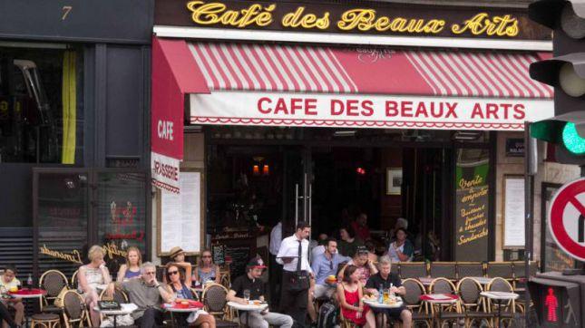 Le Café des Beaux Arts à Paris