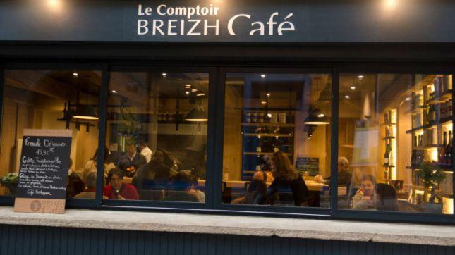 Breizh café à Paris