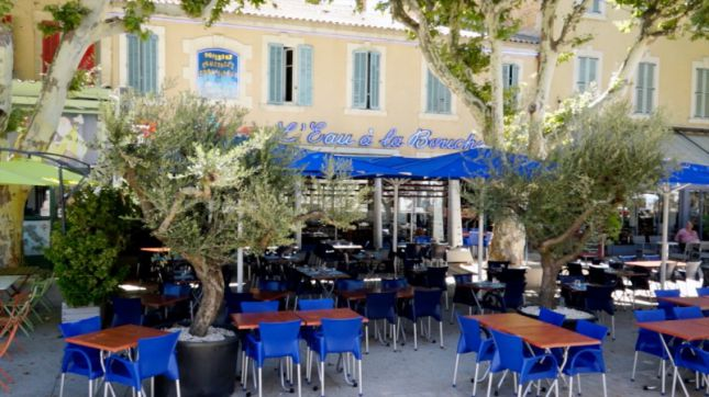 restaurant l 39 eau la bouche salon de provence en vid o