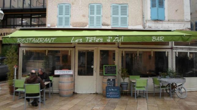 Les Têtes d'ail à Toulon