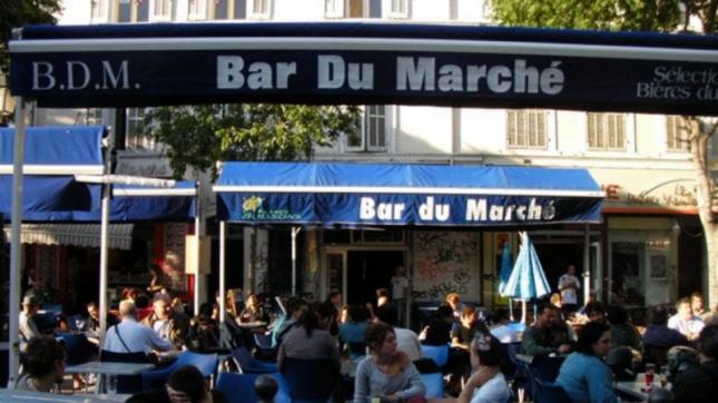 Le Bar du Marché à Marseille
