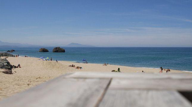 Milady beach à Biarritz