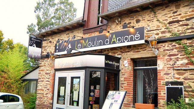 Le Moulin d'Apigné à Rheu