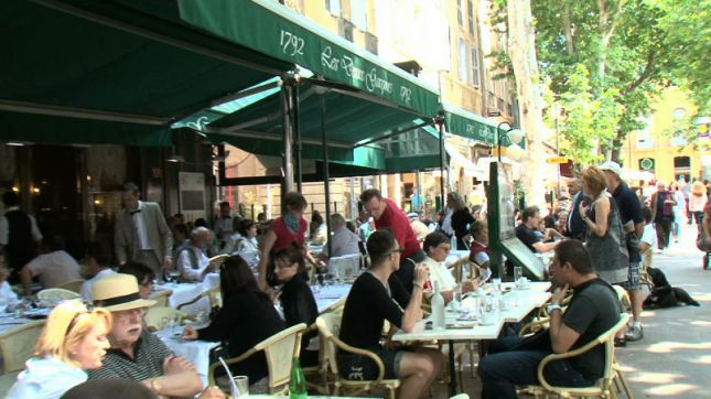 Les Deux Garçons à Aix-en-Provence