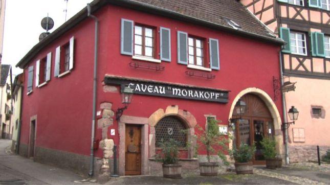 Caveau Morakopf à Niedermorschwihr