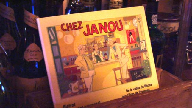 Chez Janou à Paris