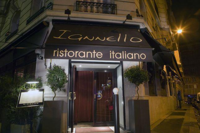 Restaurant Iannello  Boulevard Exelmans  Paris France