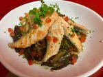 Noodles au Saumon et légumes grillés
