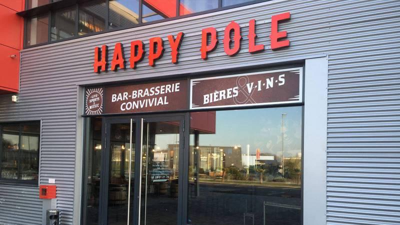 Brasserie Happy Pole à Vertou
