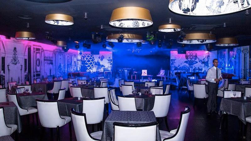 restaurant cabaret oriental les nuits blanches paris. Black Bedroom Furniture Sets. Home Design Ideas