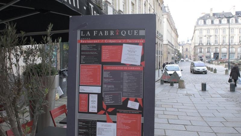 Restaurant La Fabrique Saint-Georges à Rennes en vidéo