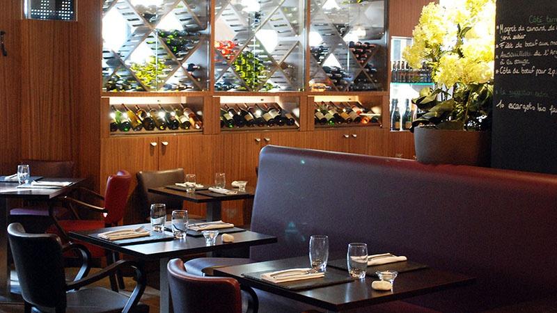 restaurant le square nantes hotelrestovisio france. Black Bedroom Furniture Sets. Home Design Ideas