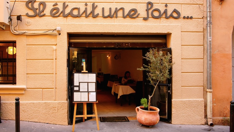 restaurant il tait une fois aix en provence hotelrestovisio. Black Bedroom Furniture Sets. Home Design Ideas
