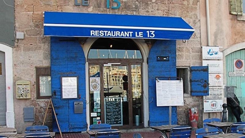 Restaurant le 13 marseille hotelrestovisio france - Au vieux port restaurant marseille ...